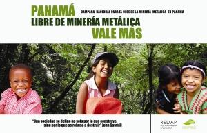 Panamá libre de minería metálica, vale más