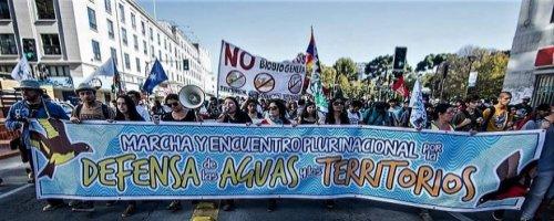 Movimiento por el agua y los territorios entrega pleno respaldo a Colectivo Mapuexpress ante querella