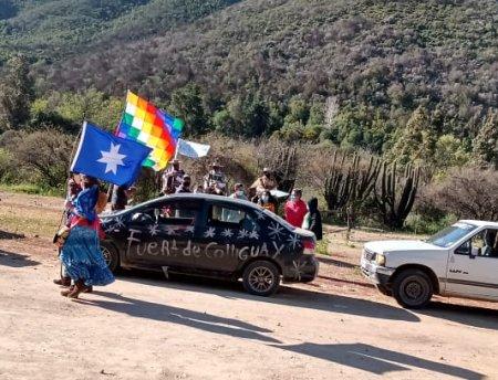 Colliguay protesta contra la minería